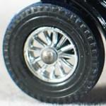 Matchbox Models of Yesteryear Wheels : 12 Spoke Plastic - Chrome