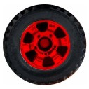 Matchbox Wheels : 6 Spoke Utility - Red