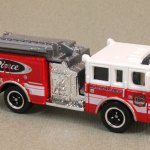 Matchbox MB755-17: Pierce Dash Fire Engine