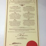 Matchbox Models of Yesteryear : YY60 : Connoisseur Set Certificate of Authenticity