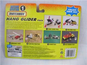 Matchbox Action System : Hang Glider Pack