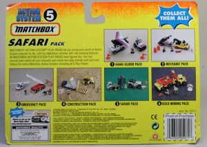 Matchbox Action System : Safari Pack