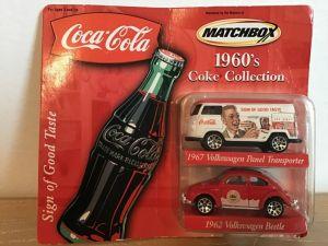 Matchbox Coke Collection - Avon Exclusives 1960s