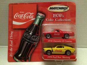 Matchbox Coke Collection - Avon Exclusives 1970s