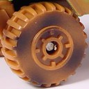 Matchbox Wheels : Maltese Cross - Brown/Camouflage