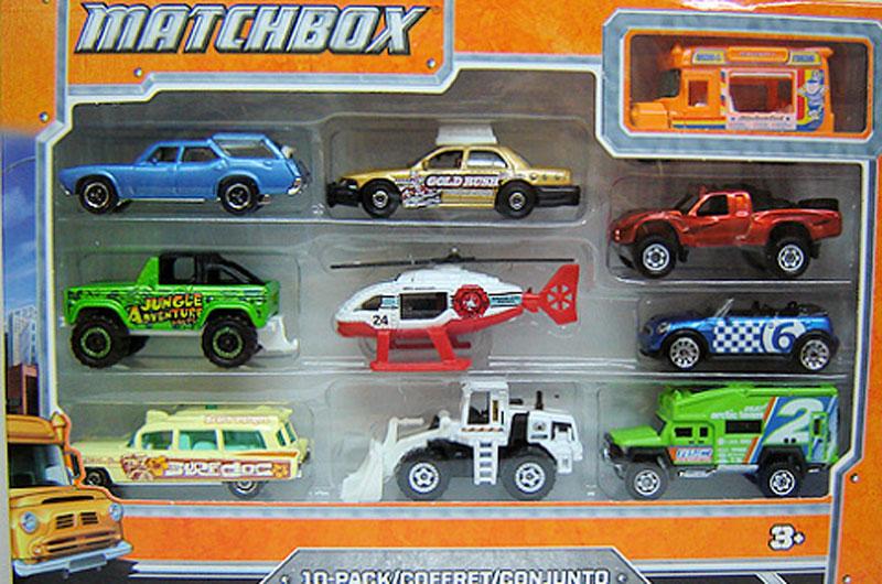Matchbox 10 Pack : 2012 #07