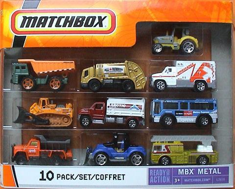 Matchbox 10 Pack : 2007 #05