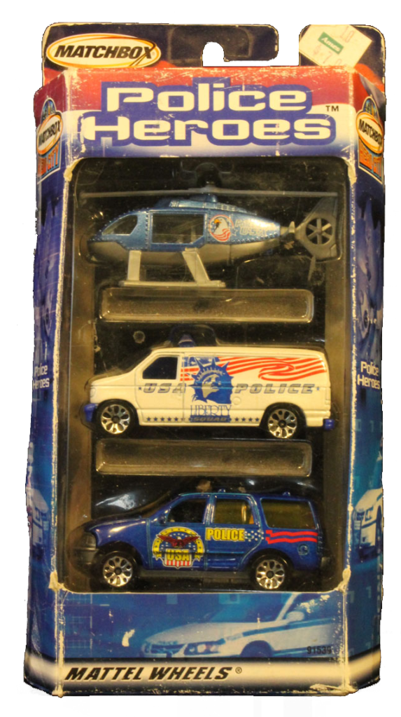 Matchbox 3 Pack : 2002 - Police Heroes