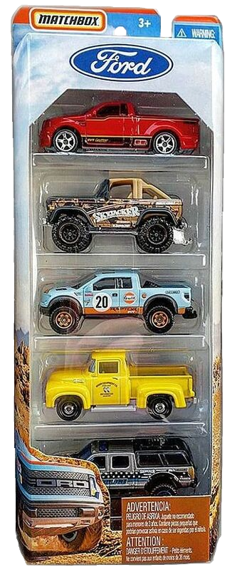 Matchbox 5 Pack : 2020 - Ford