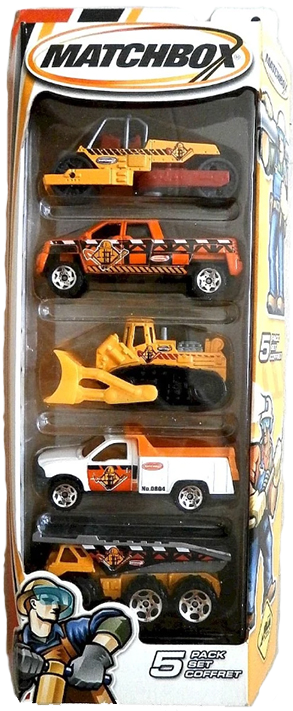 Matchbox 5 Pack : 2005 #03 – Construction 1