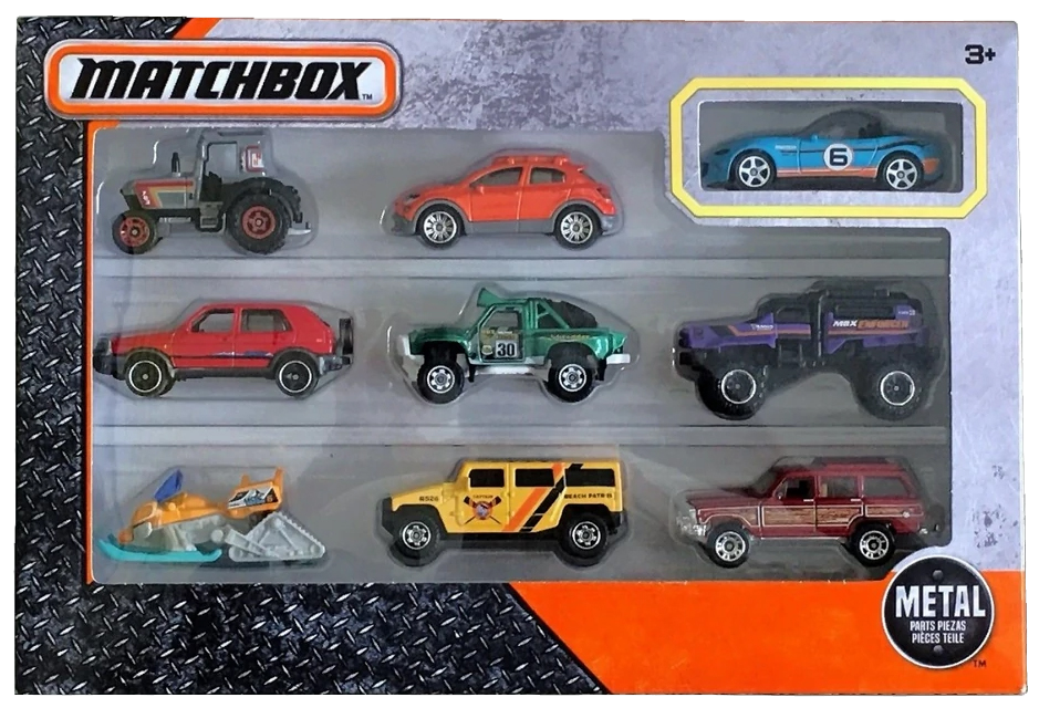 Matchbox 9 Pack : 2018 #05