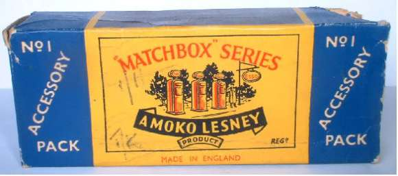 Matchbox A1 Accessory Pack