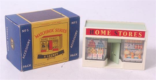 Matchbox A5 : Home Stores
