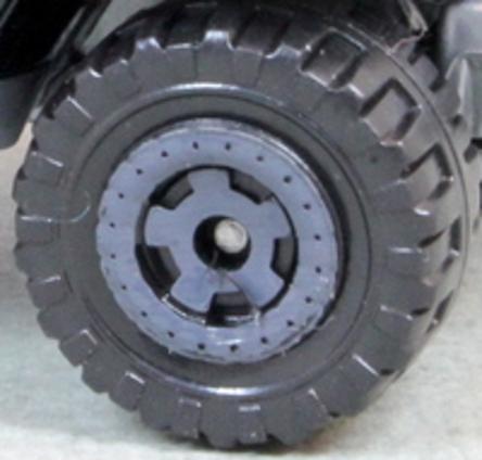 Matchbox Wheels: Cog - Grey