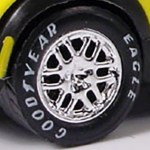 Matchbox Wheels : Goodyear Eagle 12 Spoke