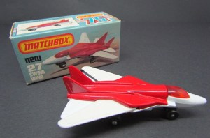 Matchbox MB027 : Swing Wing Jet
