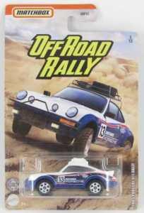 Matchbox MB1185 : 1985 Porsche 911 Rally