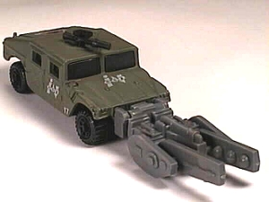 Matchbox MB329 : Hummer with Armament