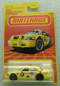 Matchbox MB901 : 2006 Ford Crown Victoria Taxi