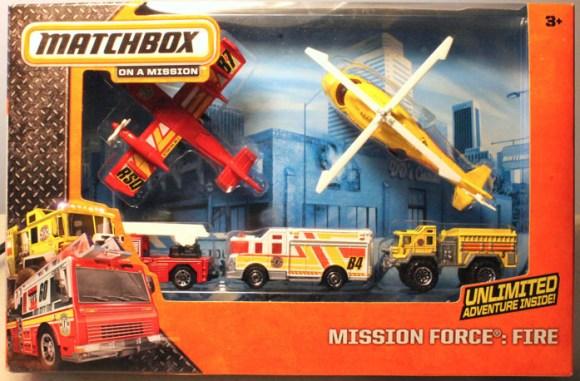 Matchbox Mission Force - Fire