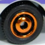 Matchbox Wheels : Ringed Disc - Orange