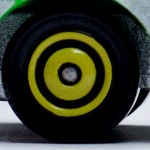 Matchbox Wheels : Ringed Disc - Yellow