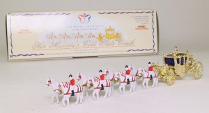 Matchbox Models of Yesteryear : Y66-1 : 1762 Gold State Coach