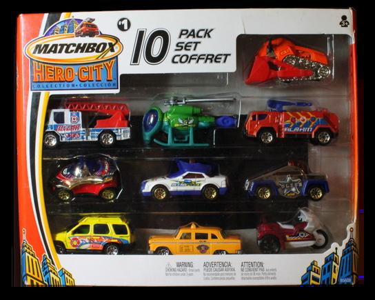 Matchbox 10 Pack : 2004 #01