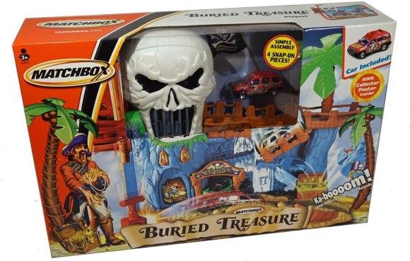 Matchbox Buried Treasure playset