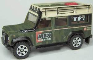 Matchbox MB697 : Land Rover Defender 110
