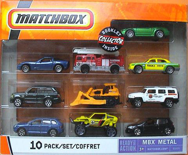 Matchbox 10 Pack : 2007 #04