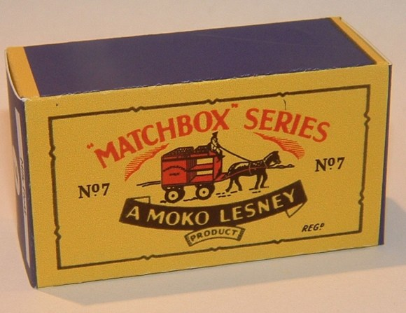 Matchbox Box Type - B