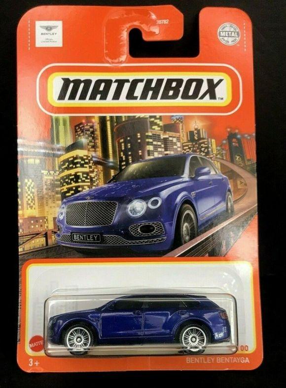 Matchbox 2021 Basic Range Long Card (2021-01)