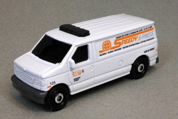 Matchbox MB444 : Ford Panel Van (Roof Attachments/Retooled)