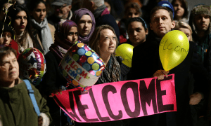 8 refugee welcome
