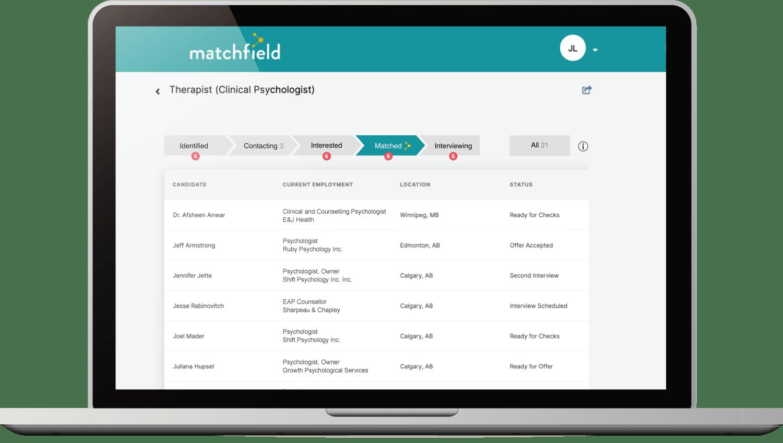 The Matchfield App
