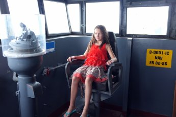 In the captain's chair