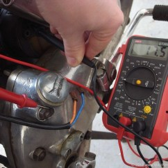 Ford Alternator Diode Testing 3 Way Lamp Switch Wiring Diagram How To Check Your Lucas Dynamo Matchless Clueless