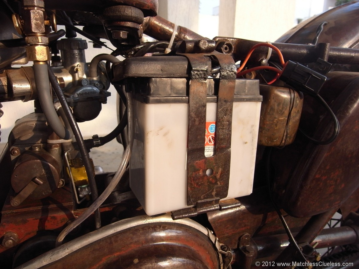 electronic flasher unit wiring diagram western plow how to convert a classic bike from 6 12 volts • matchless clueless