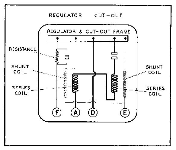12 Volt Generator Voltage Regulator Wiring Diagram : 50