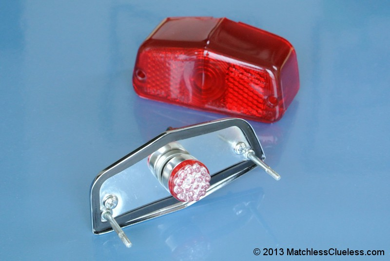 6v Lucas 564 LED Stop And Tail Light Matchless Clueless