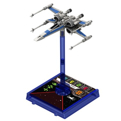 FFG SWX43 X-Wing Pegs and Bases Blue