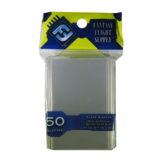 FFG FFS01 Mini American Board Game Sleeves Yellow