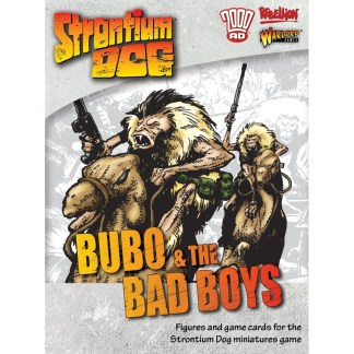 Strontium Dog 642215004 Bubo and the Bad Boys