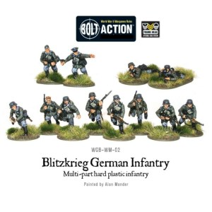 Warlord 402012012 Bolt Action German Blitzkrieg Infantry