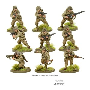 Warlord Games 402013012 Bolt Action US Infantry
