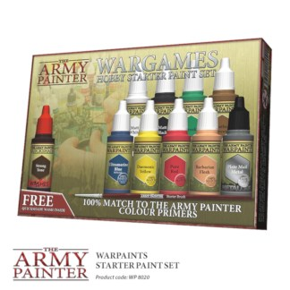 Army Painter WP8020 Warpaints Starter Set