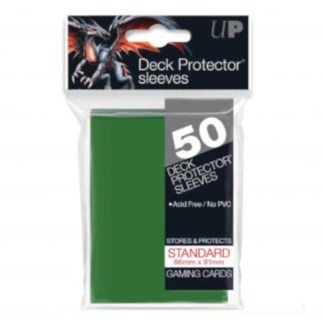Ultra PRO 82671 Green Standard Sleeves