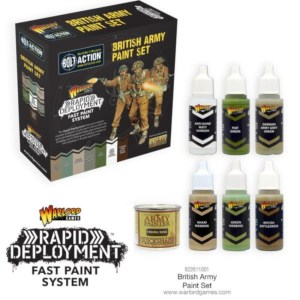 Warlord 822611001 Bolt Action British Army Paint Set