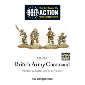 Warlord WGB-BI-21 Bolt Action British Command